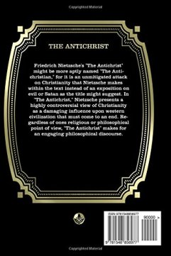 The Anti-Christ back cover