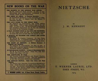 Nietzsche by j m kennedy